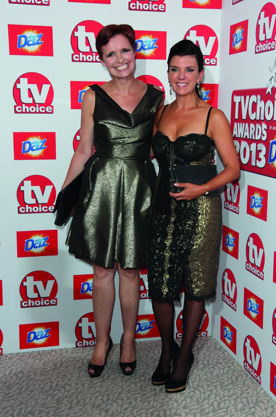 Dr Pixie McKenna and Dr Dawn Harper arriving at The TV Choice Awards 2013 held at the Dorchester, London. Photo: Featureflash/Shutterstock.co